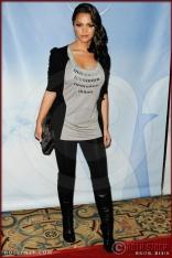 Paula Garces at NBC Universal Press Tour