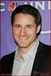 Sam Jaeger at NBC Universal Press Tour