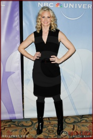 Monica Potter at NBC Universal Press Tour