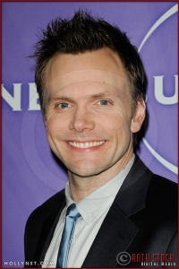 Joel McHale at NBC Universal Press Tour