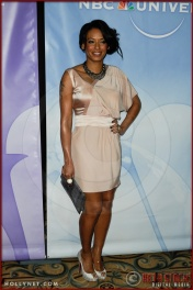 Melanie Brown (a/k/a Mel B) at NBC Universal Press Tour