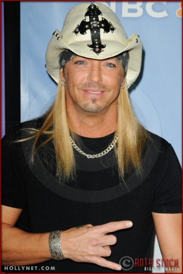 Bret Michaels at NBC Universal Press Tour
