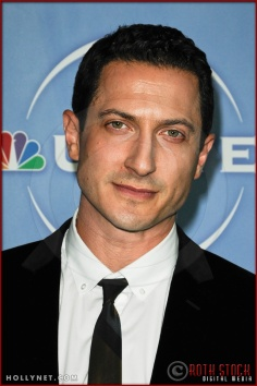 Sasha Roiz at NBC Universal Press Tour
