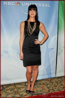 Sarah Lancaster at NBC Universal Press Tour