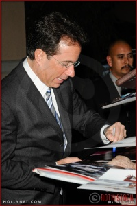 Jerry Seinfeld at NBC Universal Press Tour