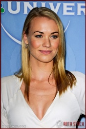 Yvonne Strahovski at NBC Universal Press Tour