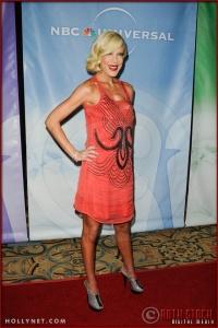 Tori Spelling at NBC Universal Press Tour