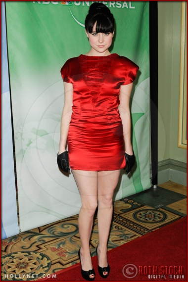 Alessandra Torresani at NBC Universal Press Tour