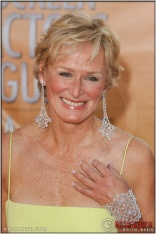 Glenn Close arriving at the 11th Annual Screen Actors Guild Awards