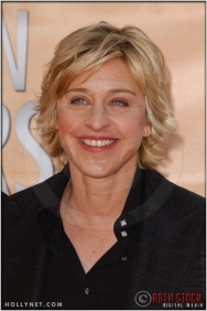 Ellen DeGeneres arriving at the 11th Annual Screen Actors Guild Awards