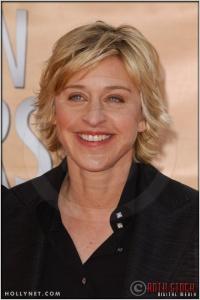 Ellen DeGeneres arriving at the 11th Annual Screen Actors Guild Awards