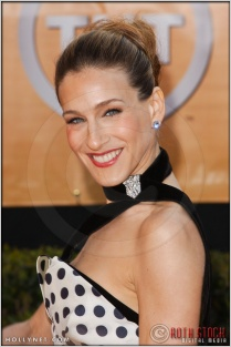 Sarah Jessica Parker arriving at the 11th Annual Screen Actors Guild Awards
