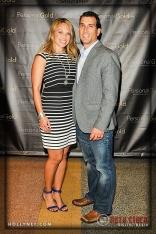 Kristin Holmes Bairos and Olympian Johnny Bairos