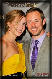 Jennifer Tetrick and Olympian Adam Devendeck