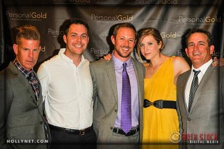 Paul Day, Travis Smith, Olympian Adam Duvendeck, Jennifer Tetrick and Guest