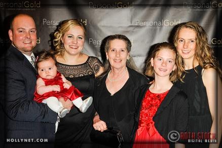 Brandon Madden, Olympian Jennie Reed and Family