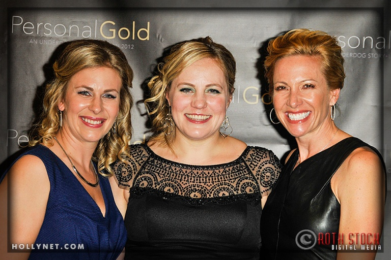 Olympians Sarah Hammer, Jennie Reed and Dotsie Bausch