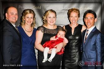 Brandon Madden with Olympians Sarah Hammer, Jennie Reed and Dotsie Bausch, Kirk Bausch
