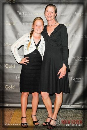 Olympic hopeful Jorja Davy and Pam Davy