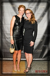 Olympian Dotsie Bausch and Kimberli Rogers