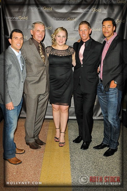 Olympians Johnny Bairos, Andrejz Bek, Jennie Reed, Sky Christopherson and Giddeon Massie