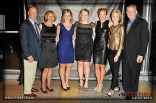 Olympians Sarah Hammer, Jennie Reed and Dotsie Bausch with their families