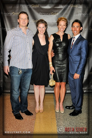 Steven Carre, Alison Letson with Olympian Dotsie Bausch and Kirk Bausch