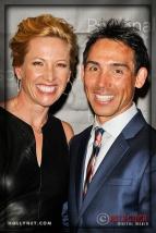 Olympian Dotsie Bausch and Kirk Bausch