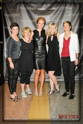 Olympian Dotsie Bausch with Jill Gass and Guests