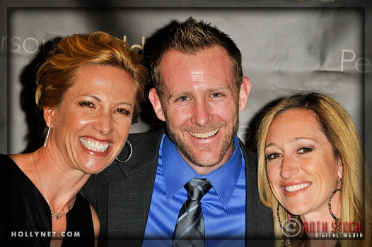 Olympian Dotsie Bausch, Jeff Prinz and Kristine Gabriel