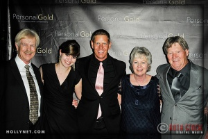Ted Oien, Anjelica Oien, Olympian Sky Christopherson, Marcia Christopherson and David Christopherson