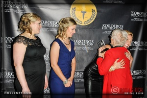 Olympians Jennie Reed, Sarah Hammer, Dotsie Bausch and Pat McCormick