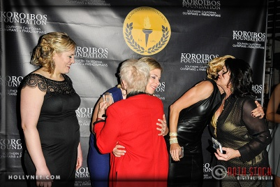 Olympians Jennie Reed, Sarah Hammer, Dotsie Bausch, Pat McCormick and Cathy Marino