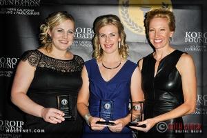 Olympians Jennie Reed, Sarah Hammer and Dotsie Bausch