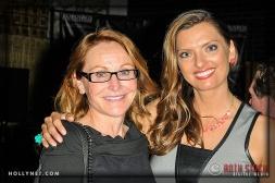 Kimberli Rogers and Olympian Tamara Christopherson