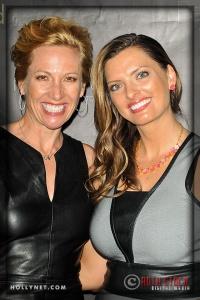 Olympians Dotsie Bausch and Tamara Christopherson