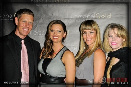 Olympians Sky Christopherson and Tamara Christopherson with Kym Rodger and Guest