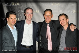 Ted Dyl, Michael Morris, Olympian Sky Christopherson and Kyle Carpenter