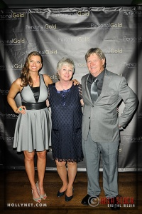 Olympian Tamara Christopherson with Marcia and David Christopherson