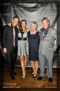 Olympians Sky and Tamara Christopherson with Marcia and David Christopherson