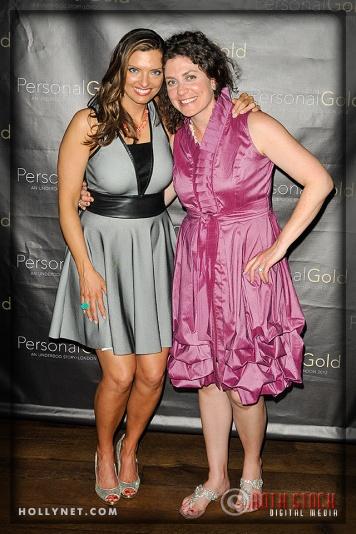 Olympian Tamara Christopherson and Lindsay Morris