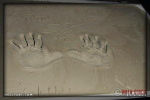 Hand prints of Antonio Banderas