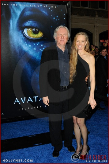 James Cameron and Suzy Amis
