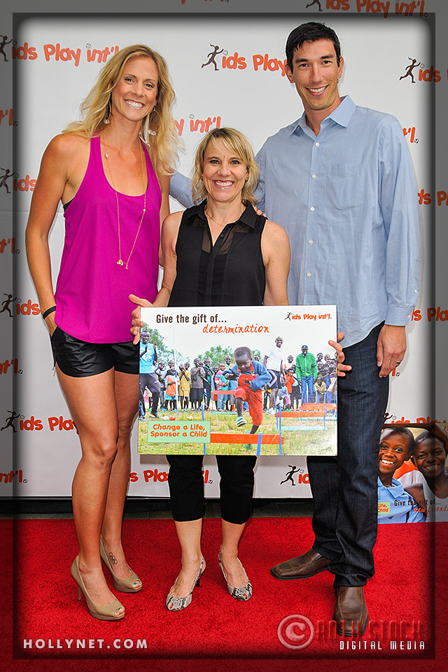 Olympians Jaime Komer and Tracy Evans with Pro Volleyball Player Matt Komer
