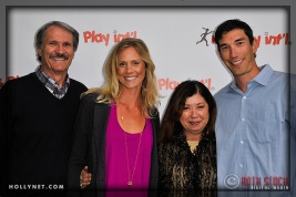 Olympian Jaime Komer with Pro Volleyball Player Matt Komer and Family