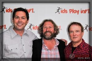 BJ Arnold, Simon Dove and Mark Conneely