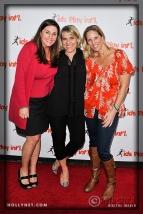 Kathy Knoll, Olympian Tracy Evans and Ally Bowdoin