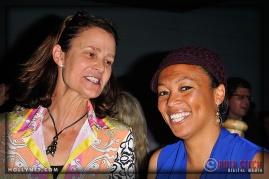 International Tennis Hall of Famer Pam Shriver and Olympian Angela Hucles