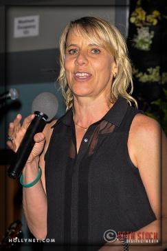 Olympian Tracy Evans