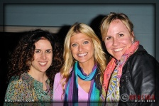 Publicists Melinda Travis, Beth and Katrina Younce of Pro Sports Communications